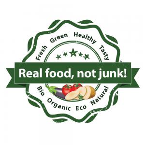 Sello comida real