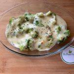 En esta imagen aparece un plato de brócoli gratinado