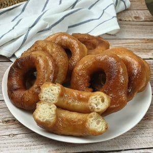 En esta imagen aparecen unos donuts caseros